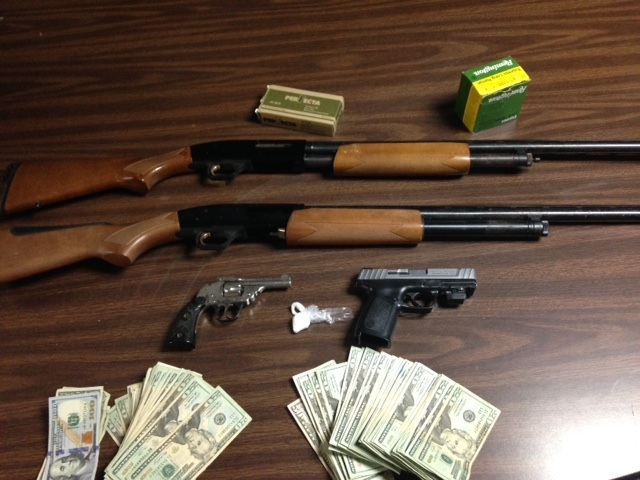 Officers execute search warrant, locate firearms and